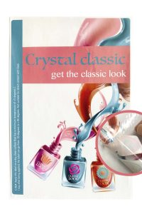 Label Crystal classic