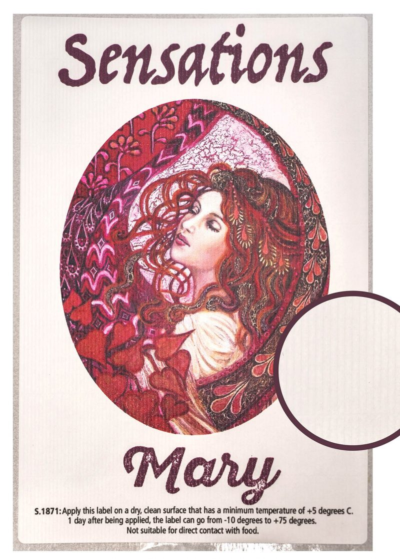 Label Sensations Mary
