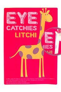 Label eye catchies litchi