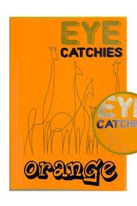 Label eye catchies orange