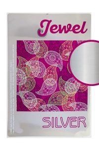 Label jewel silver