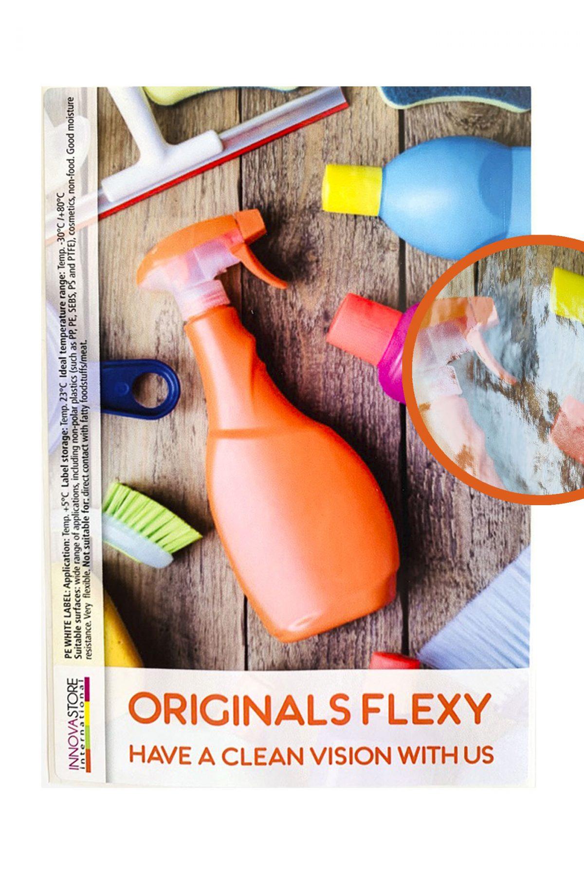 Label originals flexy