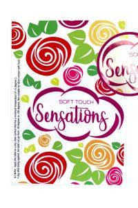 Label sensations soft touch