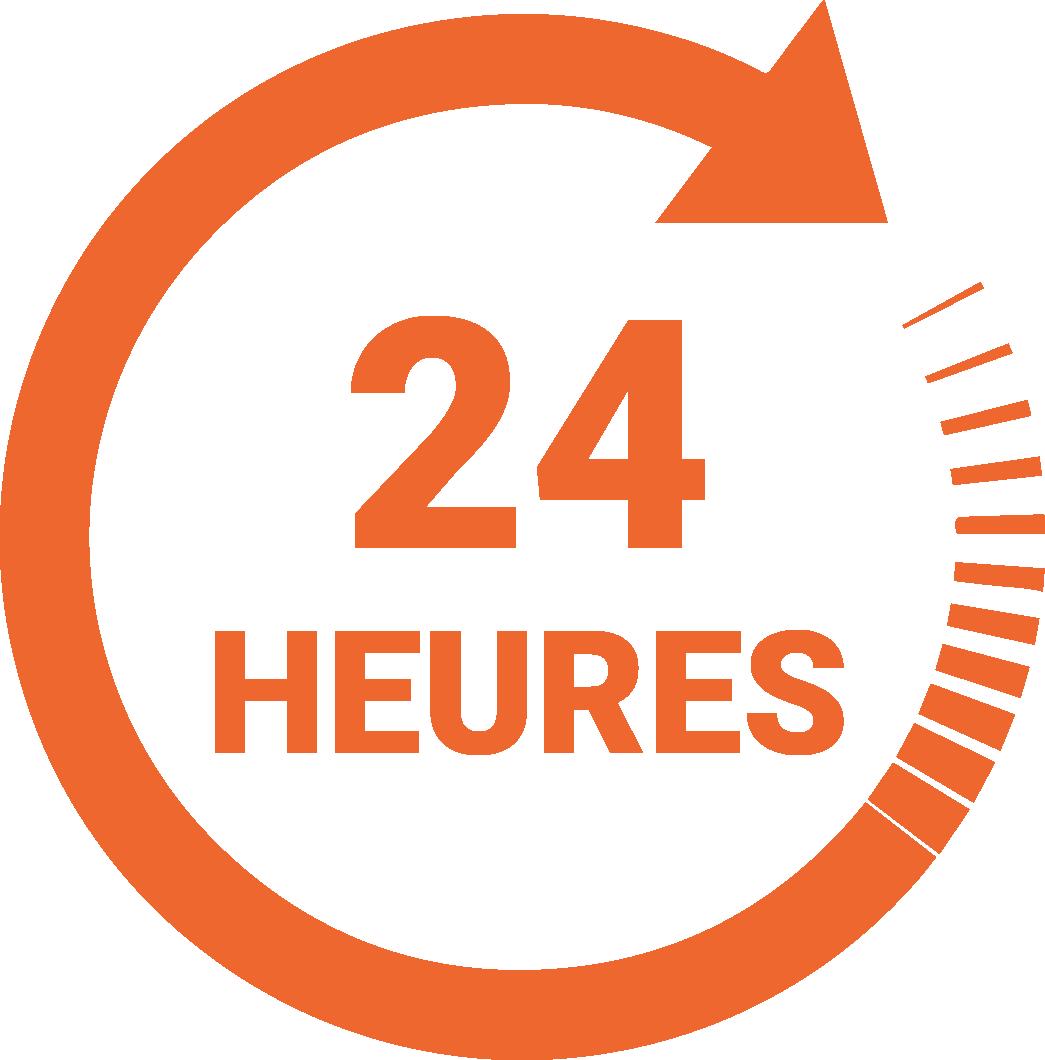 Speedlabel 24 heures