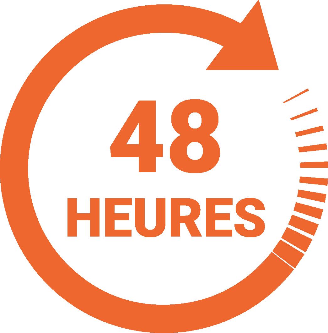 Speedlabel 48 heures