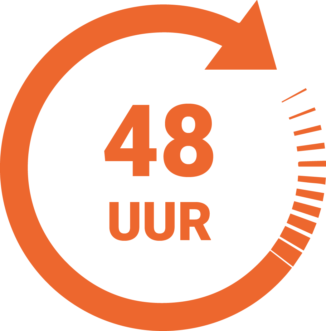 Speedlabel 48 uur Innovastore International
