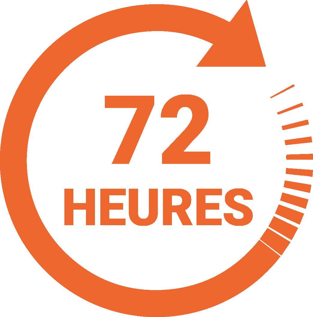 Speedlabel 72 heures