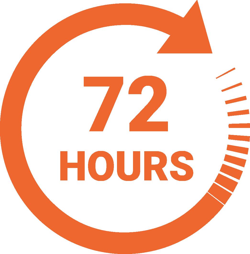 Speedlabel 72 hours