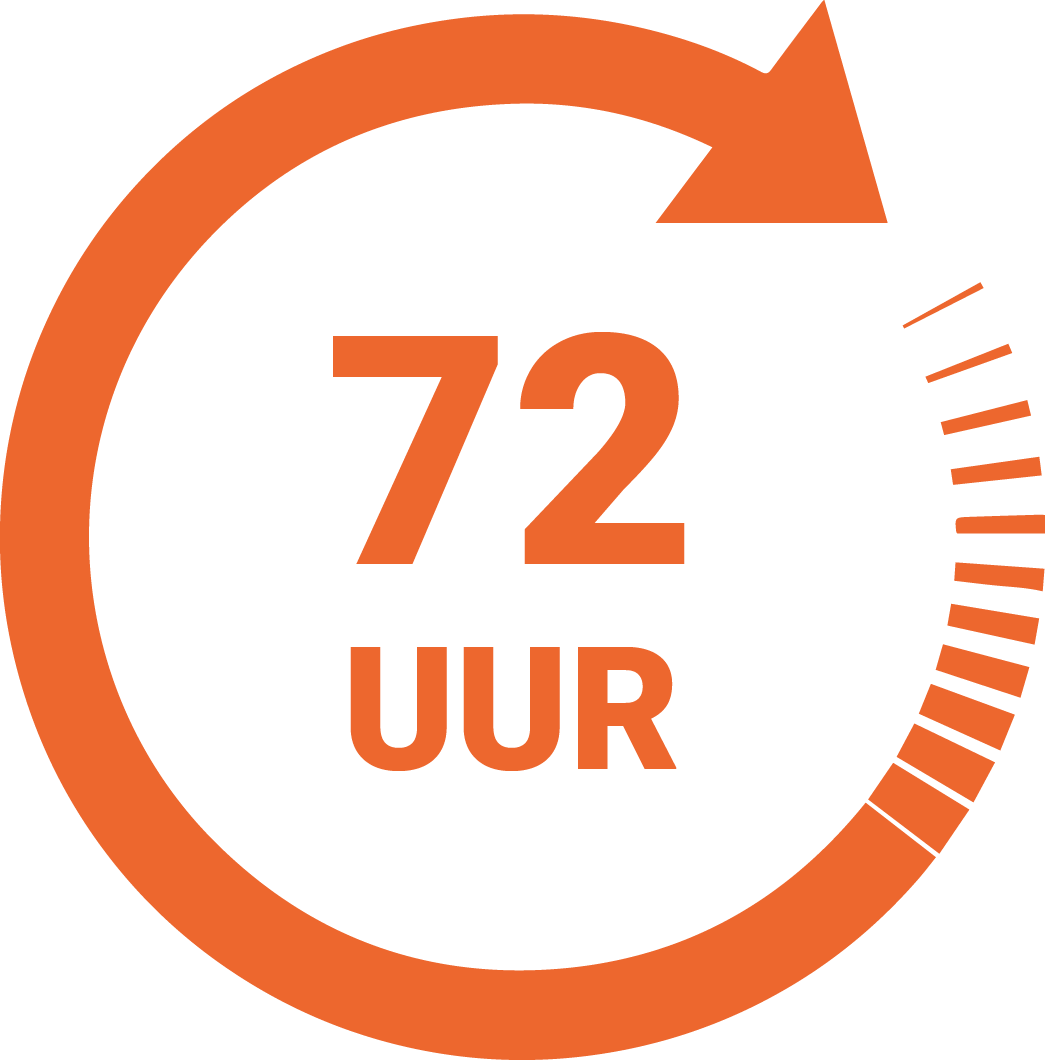 Speedlabel 72 uur Innovastore International