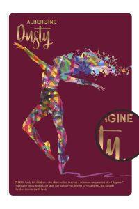Dusty ALBERGINE labels Innovastore International