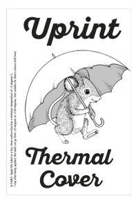 Uprint thermal cover label Innovastore International