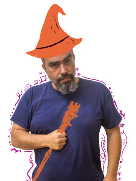 Ivaylo, Graphic Designer Wizard of Innovaland
