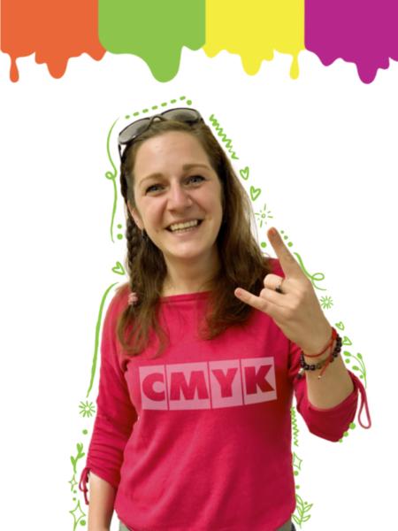 Michaela, Graphic Designer Colour Model of Innovaland