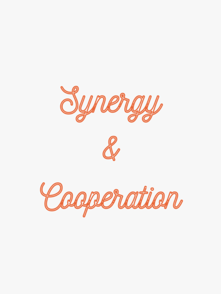 Synergy and Cooperation