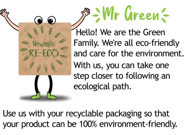 Ecofriendly labels print sample innovastore