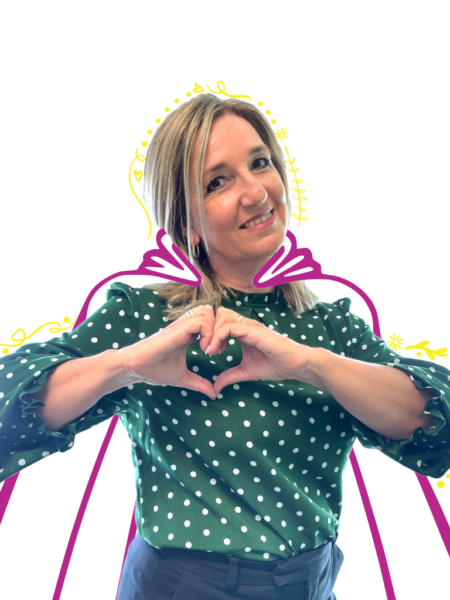 Esther, Chief Happiness Officer Positive Vibe of Innovaland